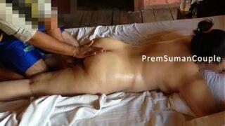 घरेलू बीवी ने करवाया गैर मर्द से नंगा मस्साज़